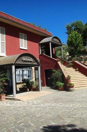Hotel Cavalieri: ingresso