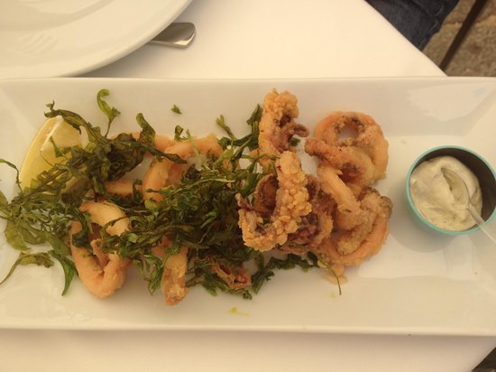 Restaurante Randemar: Calamares a la andaluza con alioli de albsva