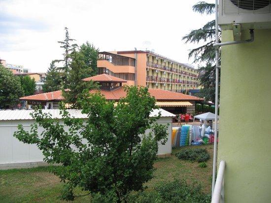 Balaton Hotel: balcony