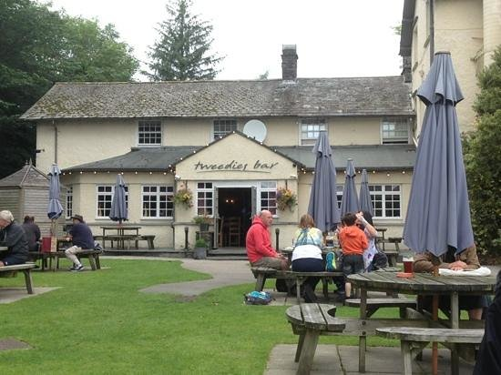 Beer Garden at Tweedies Bar.  Too many hours spent here!
