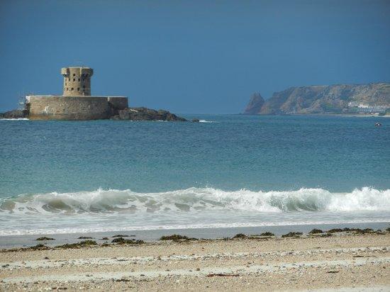 La Rocco Self-Catering Apartments : La Rocco Tower on St. Ouens beach