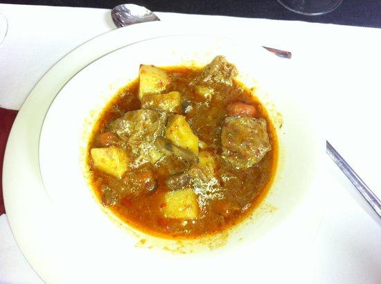 Restaurante Ruejo: Segundo plato.