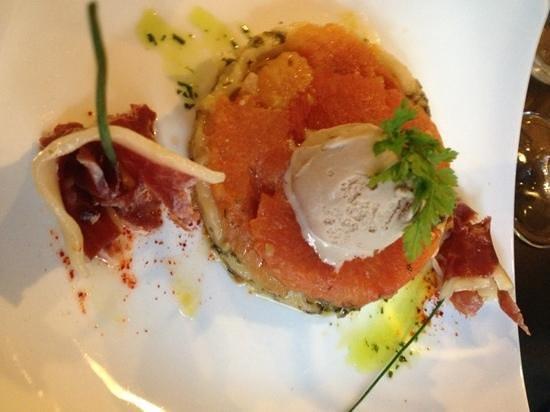 Restaurant l'Atelier de Nicolas : tomate patta negra