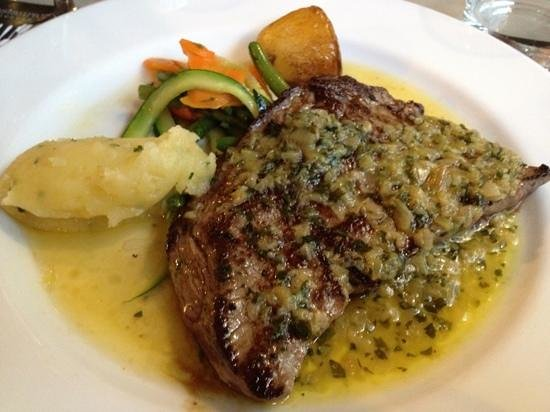 Restaurant l'Atelier de Nicolas : toro, sauce aux morilles