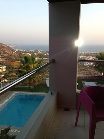 Royal Heights Resort: View from villa
