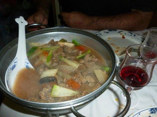 Jubin II : Sopa de ternera y verdura