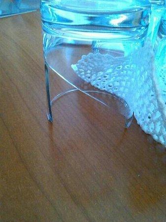 Classic Hotel Tulipano: bicchiere rotto