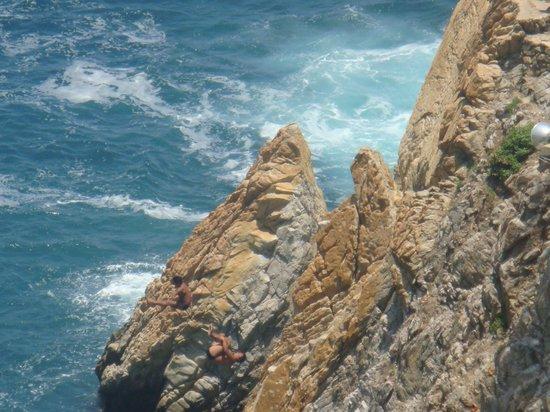 El Mirador Acapulco Hotel: show dos mergulhadores