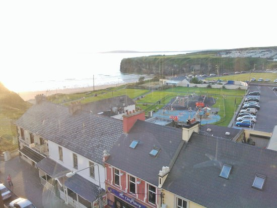 Golf Hotel Ballybunion: playground from rooftop