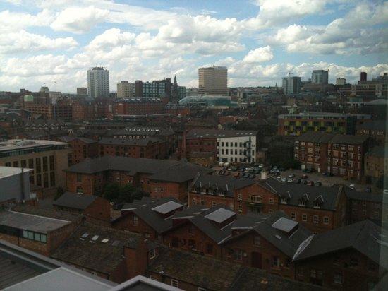 Jurys Inn Leeds: View from room (10th Floor)