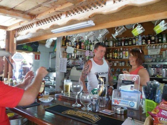 La Zona: Bar area