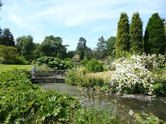 Cholmondeley Castle and gardens: Temple Garden