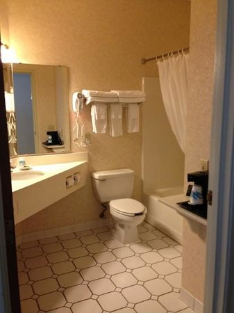 Crossings by GrandStay Inn and Suites Montevideo: bathroom