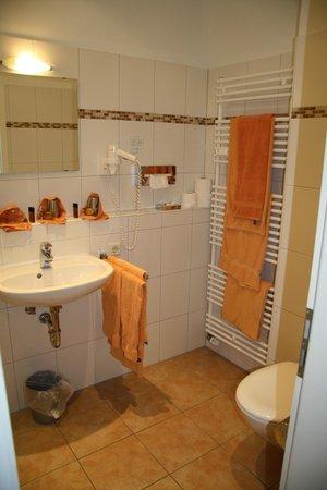 Gasthaus Hotel Backmulde: Baño Habitación 34