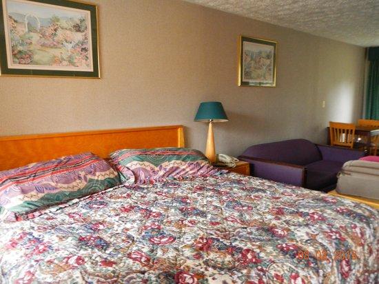 روديواي إن براندفورد: bedroom and living room spaces