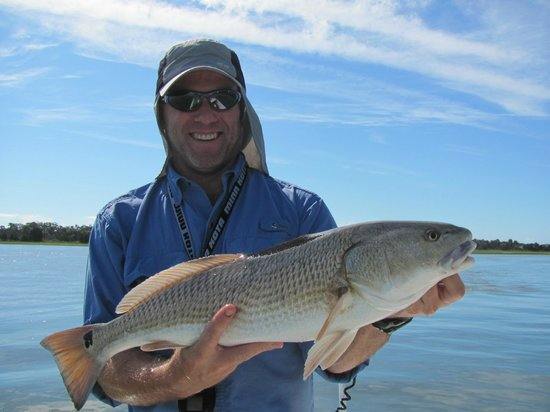 Goose Creek, SC: Catching Redfish in Charleston, SC