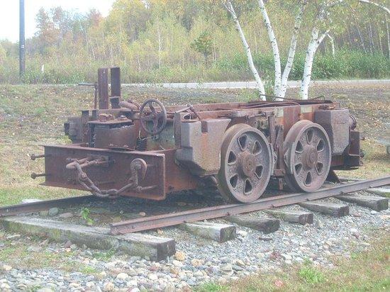 Eckley Miners' Village : mine car