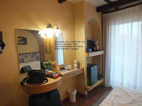 Hotel Mio Cid: La nostra camera.