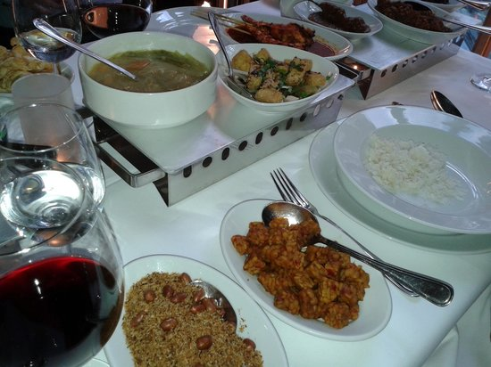 Tampat Senang : Vegetarian dishes