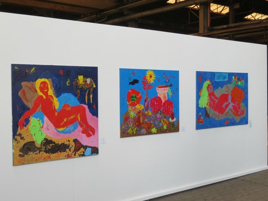 Kunstwerk Carlshutte: Bildwand