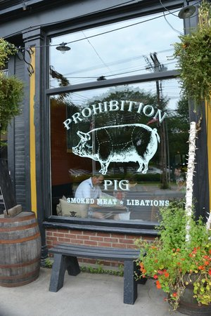 Prohibition Pig: Outstanding BBQ and Brewery with high quality ingredients
