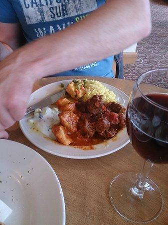 Pitlochry Golf Club: Nice curry!