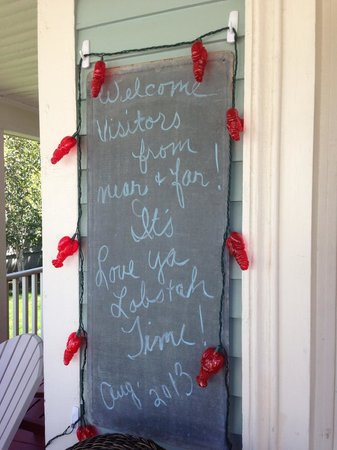 Ripples Inn at the Harbor: Welcome Sign