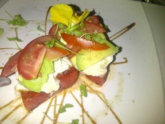 Restaurant Rostei : sandia a la plancha