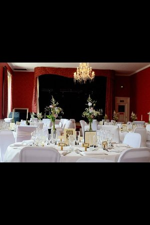 The King's Head Hotel : Wedding set up