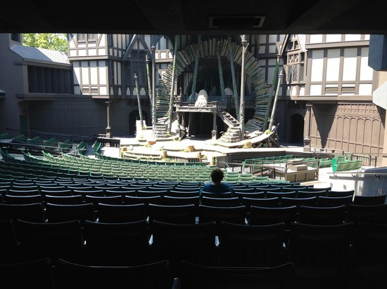 Oregon Shakespeare Festival: Inside one of the theatres