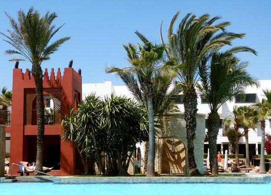 Sofitel Agadir Royal Bay Resort: schöne Außenanlage