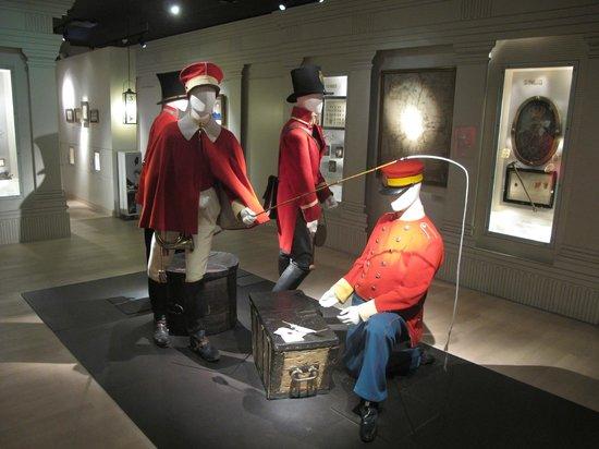 Post & Tele Museum: Почтальены