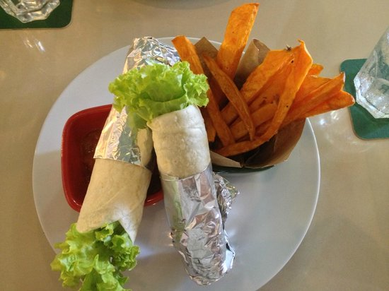 Chilli Vanilla: Yummy and healthy vege wraps