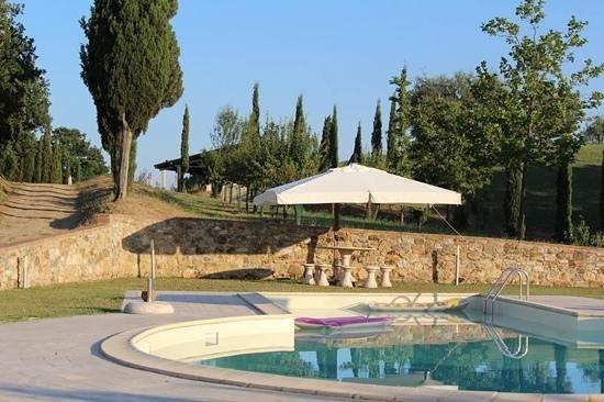 Agriturismo Montecerconi: la piscina