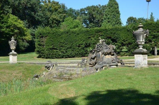 Fasanenschlösschen Moritzburg: The Fountain.