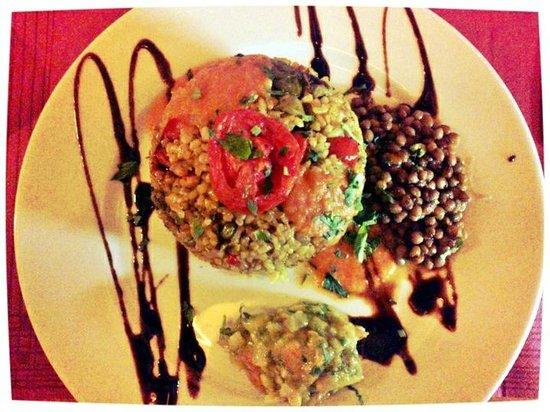 Organic : Vegetarian paella