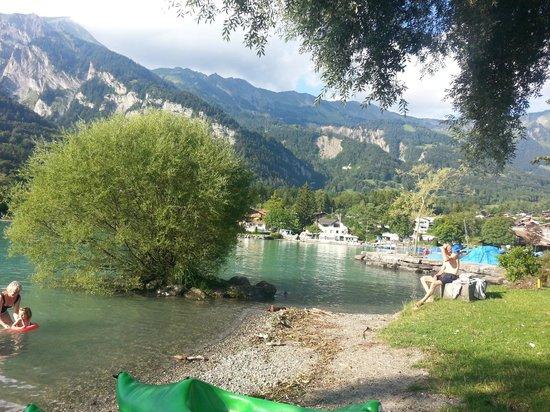 Camping Aaregg: lago di m brienz