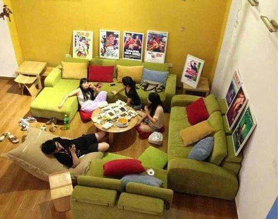 Lazy Gaga Hostel: 一楼大厅