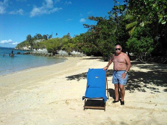Ravintsara Wellness Hôtel  : Spiaggia privata