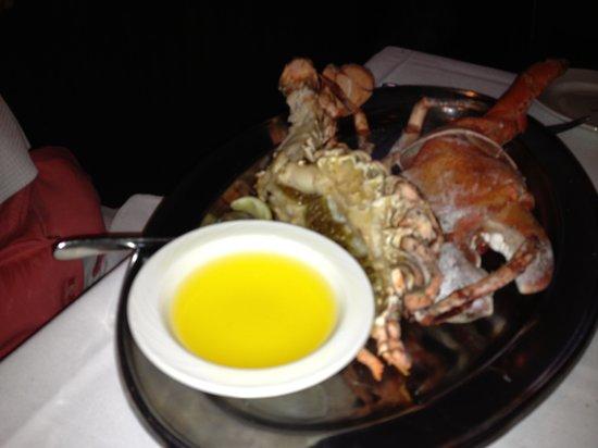 The Palm Dallas: 4lb split lobster