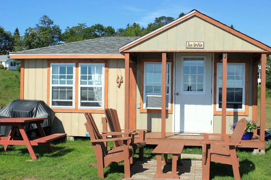 Advocate Harbour, Canada: 1 bedroom cabin old shipyard beach campground