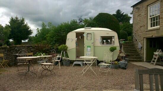 Yorkshire Tea Party: Quirky caravan!!