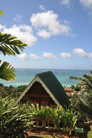 Mango Lodge: Uitzicht!