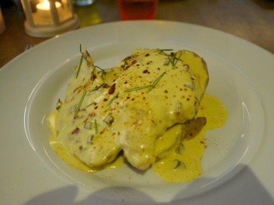 Herb's Garden: Poulet, pommes de terre grillées et sauce à la moutard MIAM