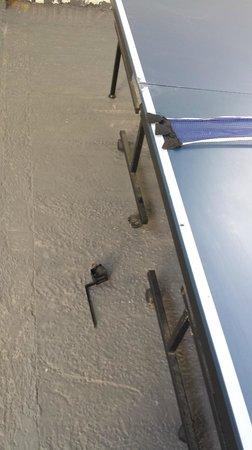 Blackwater, Irlanda: Broken table tennis table