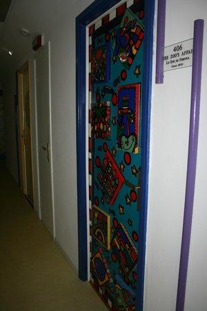Alexander Museum Palace Hotel: décoration porte