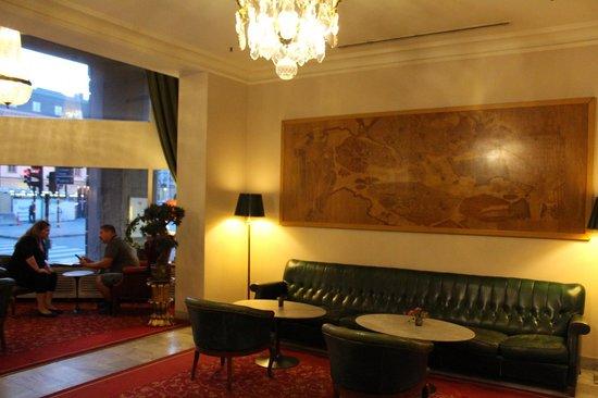 Hotel Terminus Stockholm: Lobbyn