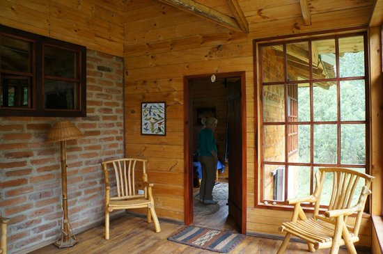 El Refugio de Intag Lodge: Inside the cabin