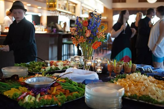 Appetizer Table For Wedding Reception Picture Of Timberline Bar