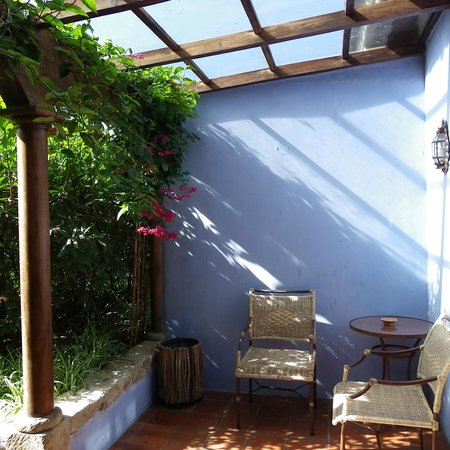 Quinta de las Flores: lovely terrace